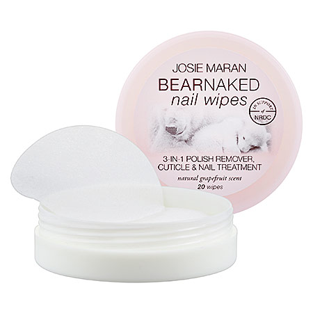 On Wednesdays We Use Pink-packaged Nail Lacquer Removal Pads From Josie Maran