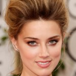 Get The Look: Amber Heard's Golden Globes 2014 Makeup