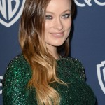 Golden Globes 2014 Hairstyle: Olivia Wilde