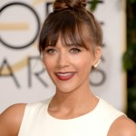 Golden Globes 2014 Makeup And Hairstyle: Rashida Jones