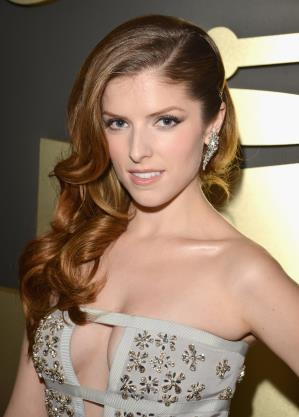Grammys 2014 Beauty: Anna Kendrick Hairstyle & Makeup