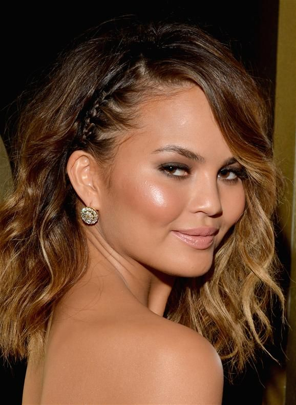 Grammys 2014 Beauty: Chrissy Teigen's Smoked-out Makeup
