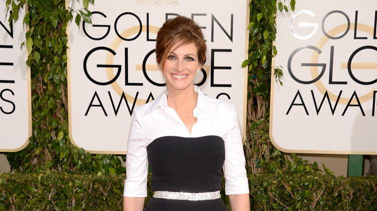 Golden Globes 2014: Julia Roberts' Makeup & Nails
