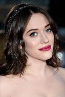 Makeup: Kat Dennings At The People's Choice Awards