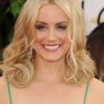 Golden Globes 2014 Hairstyle: Taylor Schilling