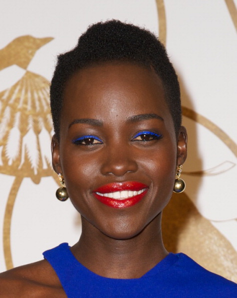 Makeup: Lupita Nyong'o At The Sally Morrison & LoveGold Academy Celebration