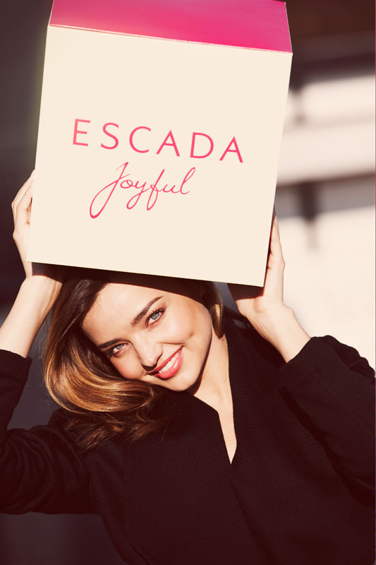 Miranda Kerr Is The New Face Of Escada Joyful Fragrance