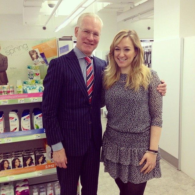 Tim Gunn and moi!