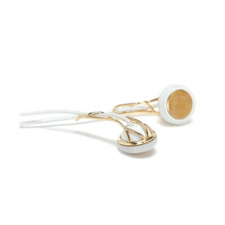 On Wednesdays We Wear Pink-gold Adorned Ear Buds