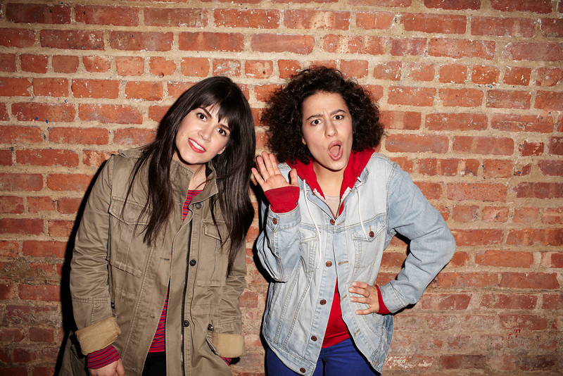 Abbi Jacobson and Ilana Glazer (l-r)