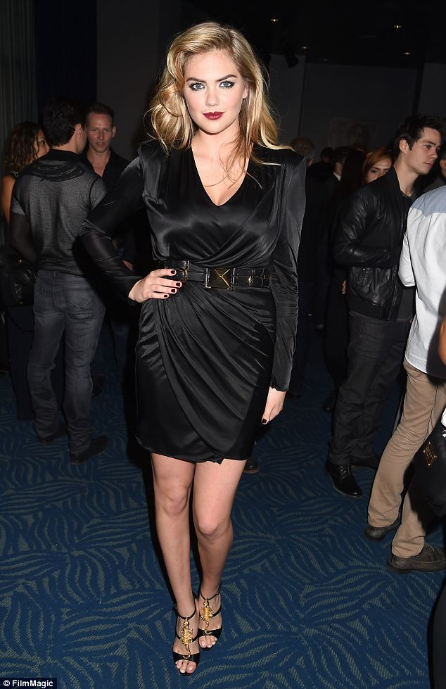 MTV Movie Awards 2014 Hairstyle: Kate Upton