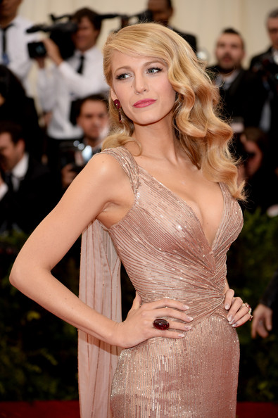 MET Ball 2014 Makeup: Blake Lively