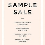 Loeffler Randall Sample Sale