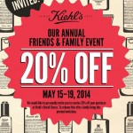 Kiehl's Friends & Family Sale: 20% Off