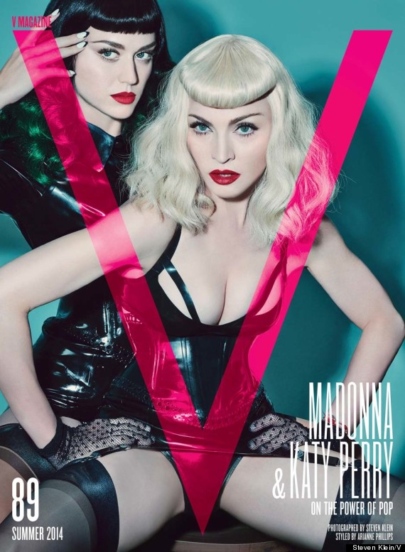 Katy Perry's Makeup Look On The Cover Of V Magazine