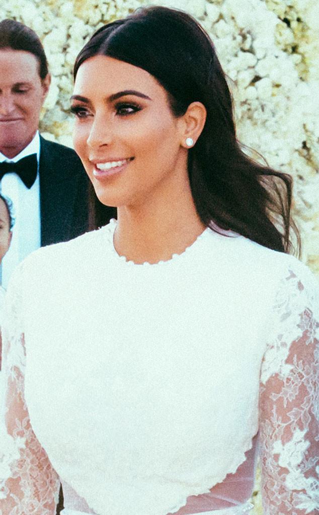 How To Recreate Kim Kardashian S Three Wedding Hairstyles Rouge 18