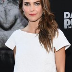 Keri Russell's Glowy Makeup: 'Dawn Of The Planet Of The Apes' Premiere