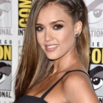 The Trick To This Faux Undercut Jessica Alba's Rocking At Comic-Con