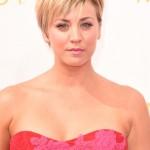 Emmys 2014 Makeup: Kaley Cuoco