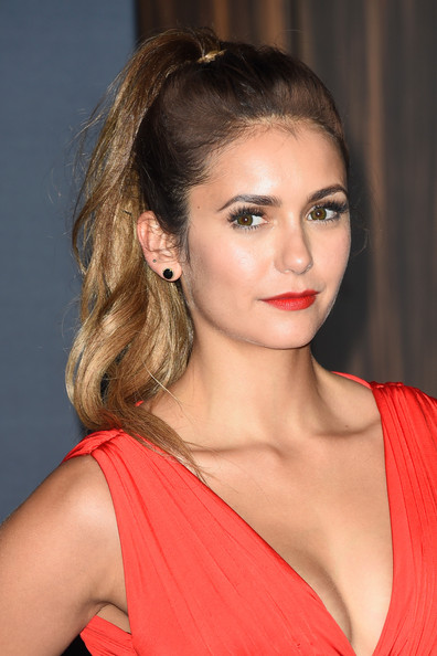 MTV VMAs 2014 Hairstyle: Nina Dobrev's High Pony