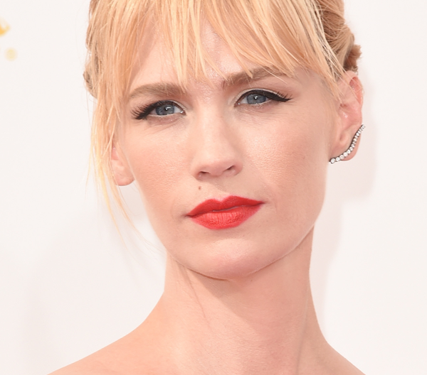 January Jones' Sultry '50s Makeup Effect: Steal The Look