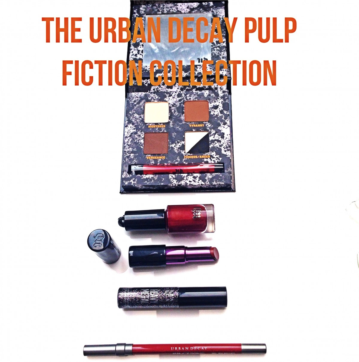 Be Cool, Honey Bunny: The Urban Decay Limited Edition Pulp Fiction Collection Is Here