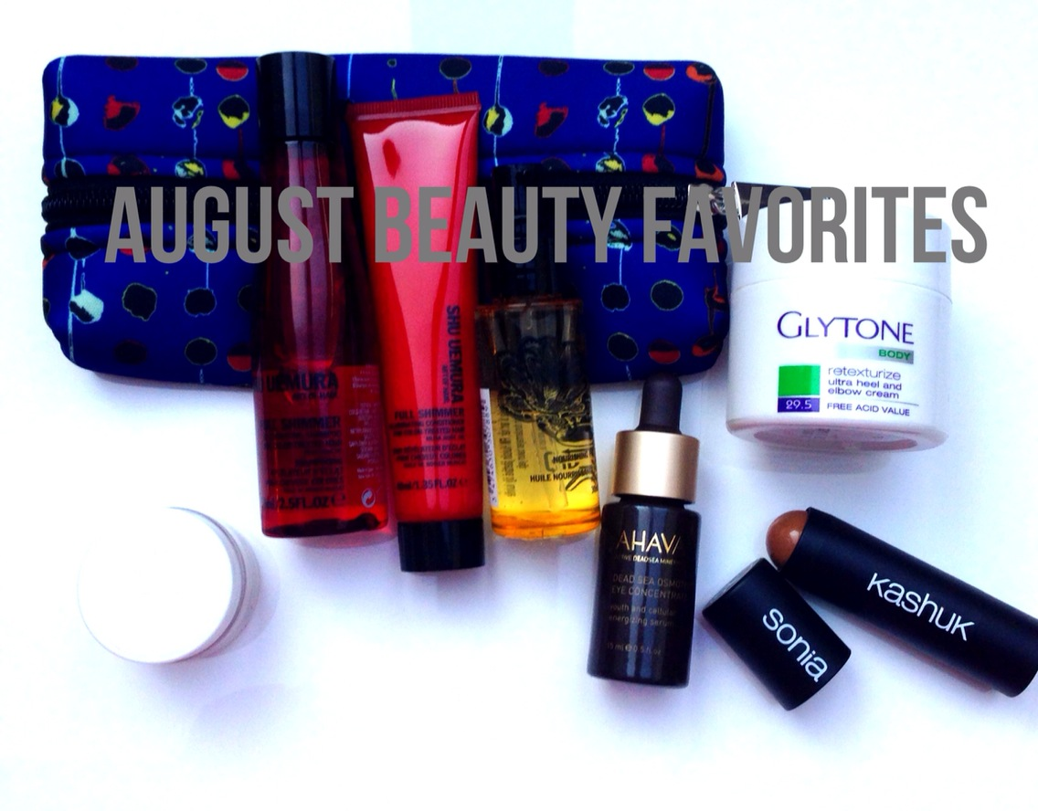 Video: August Beauty Favorites