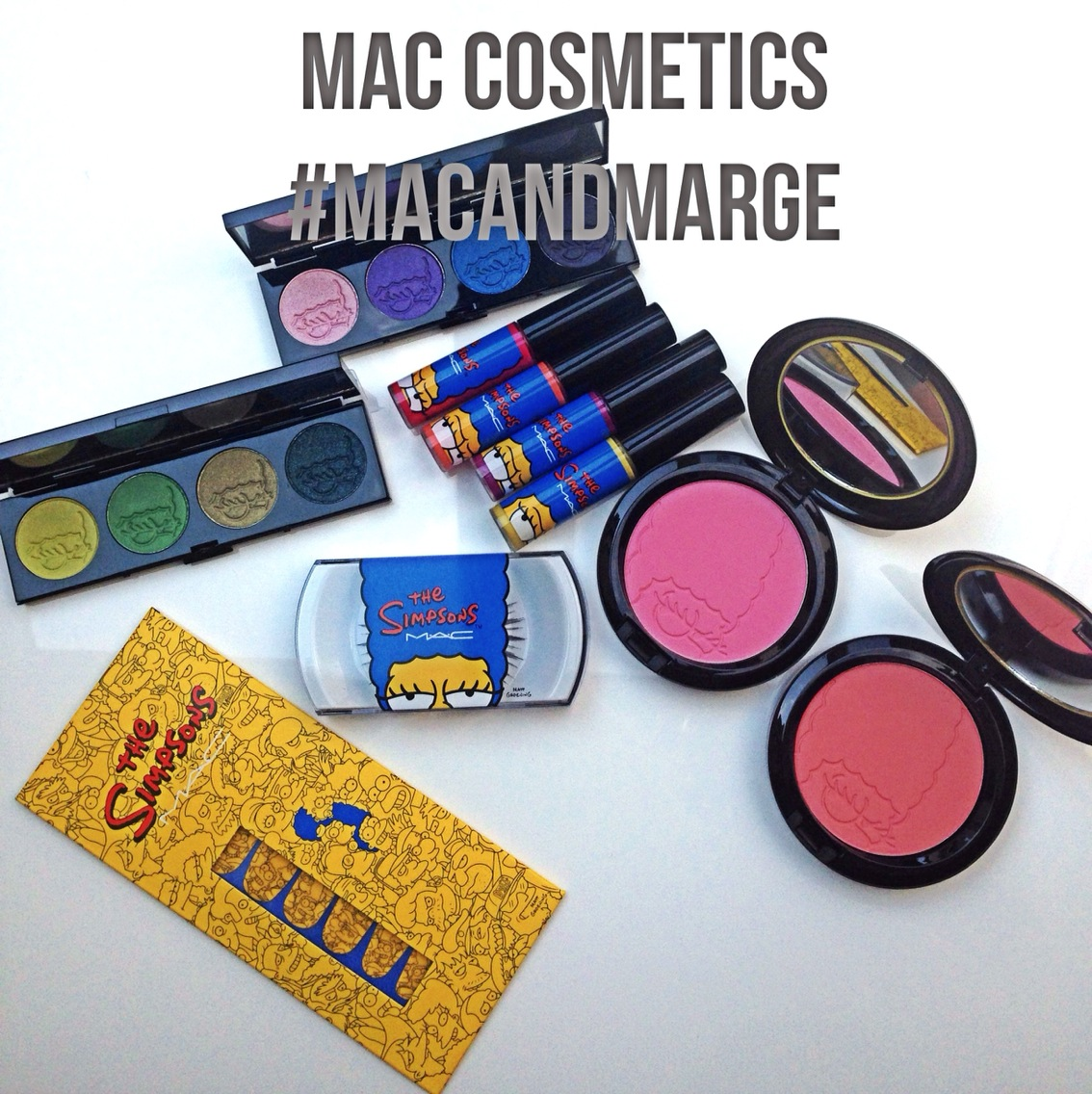 #MACANDMARGE: The Simpsons Makeup Collection Fall 2014