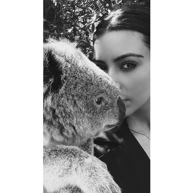 Credit: Kim Kardashian's Instagram
