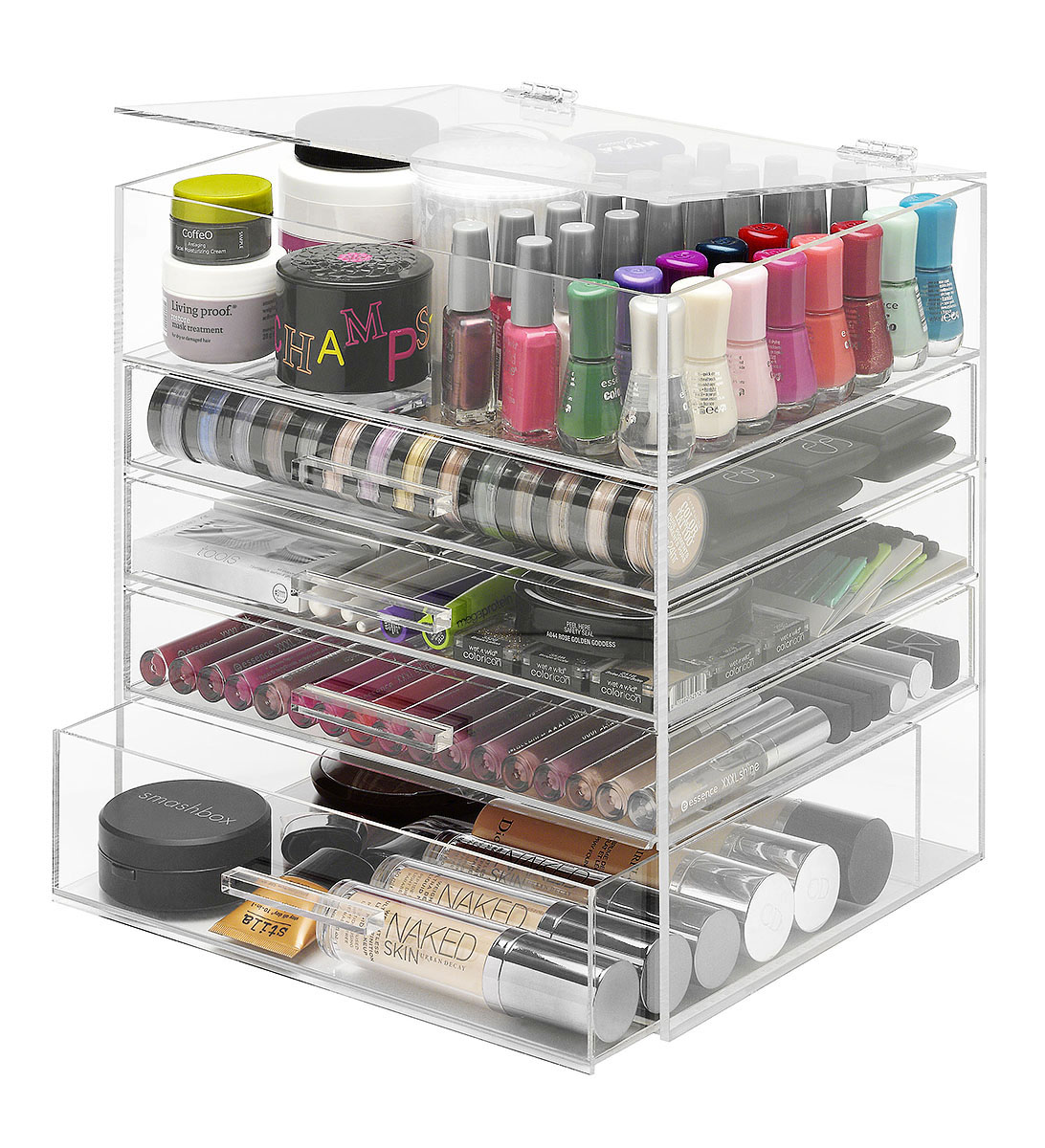 Giveaway: Win A Whitmor 5-Tier Acrylic Beauty Organizer!