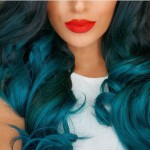Kylie Jenner's Ombre Teal Extensions + More: Destination Procrastination