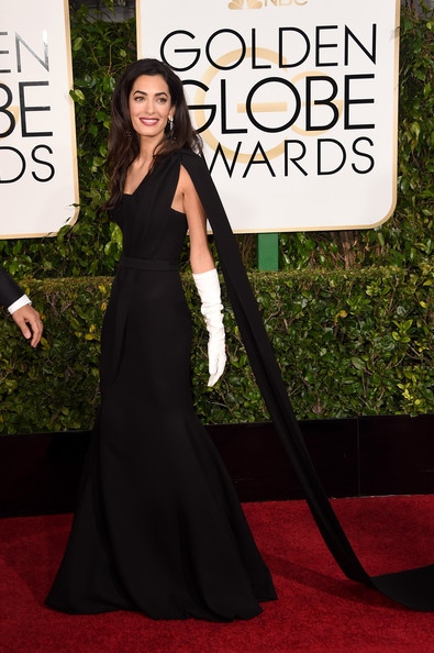 Golden Globes 2015 Makeup: Amal Clooney