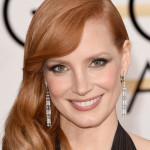 Golden Globes 2015 Hair: Jessica Chastain