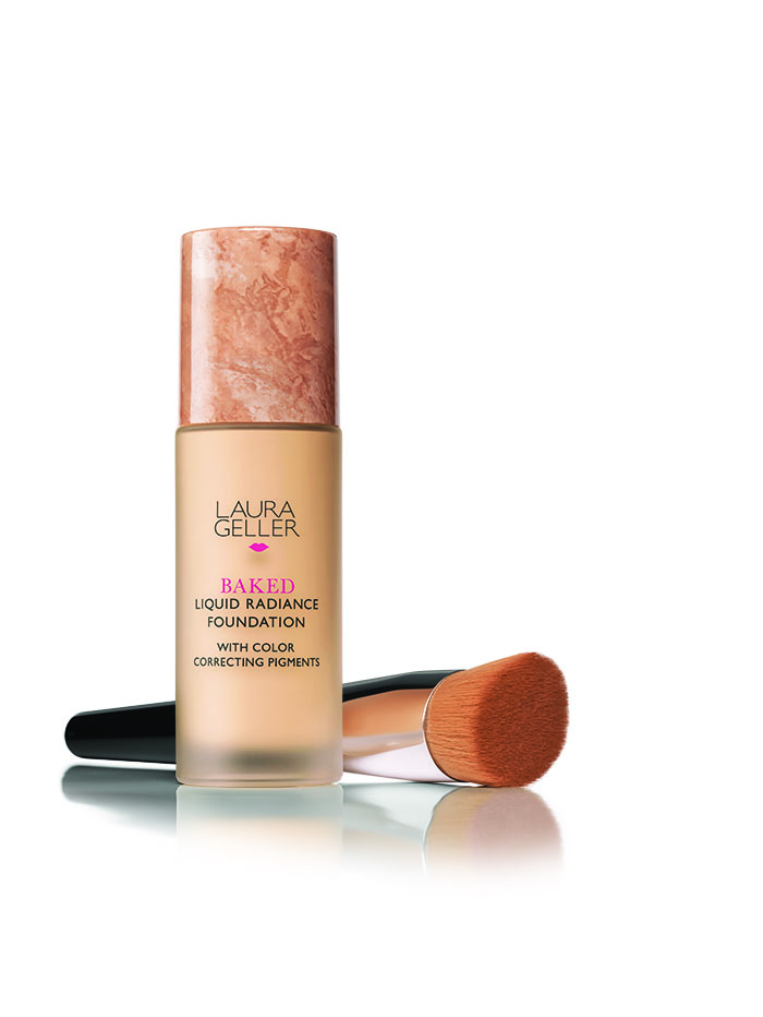 Laura Geller - Baked Liquid Radiance Foundation with Brush