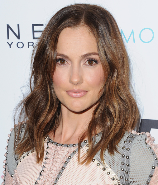 The Secret To Minka Kelly's Perfect Pink-nude Hybrid Lip