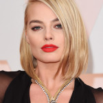 ALL The Details On Margot Robbie's SICK Red Lip