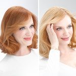 Christina Hendricks Goes Blonde With Nice 'n Easy