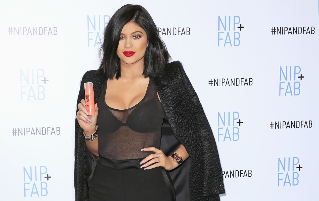 Kylie Jenner, Ambassador For NIP+FAB - Photocall And Q&A