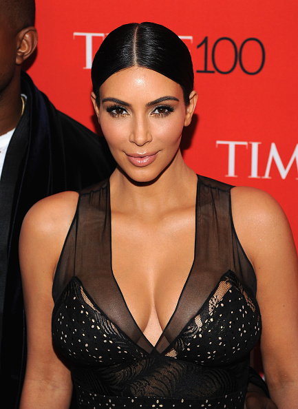 Kim Kardashian's Hair & Makeup At The 2015 Time 100 Gala
