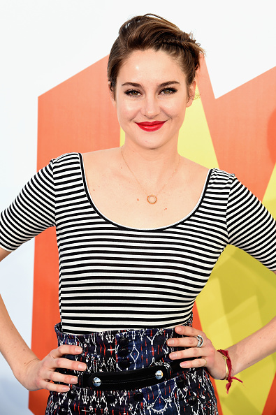IDENTIFIED: Shailene Woodley's STUNNING MTV Movie Awards Lipstick