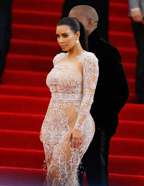 Met Ball 2015 Makeup: Kim Kardashian