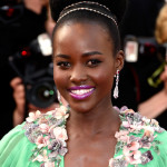 The Trick To Lupita's Lined Lid & Fuchsia Lip At Cannes