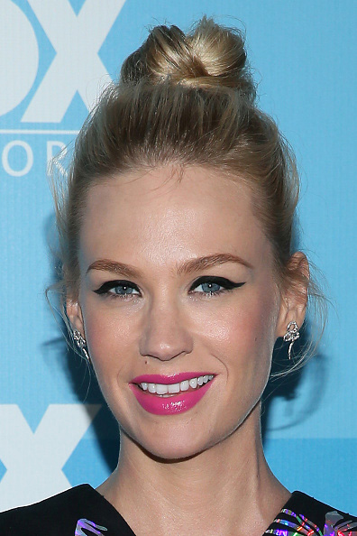 NEW YORK, NY - MAY 11:  Actress January Jones attends the 2015 FOX programming presentation at Wollman Rink in Central Park on May 11, 2015 in New York City.  (Photo by Jemal Countess/Getty Images)
