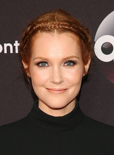 NEW YORK, NY - MAY 12:  Actress Darby Stanchfield attends the 2015 ABC NY Upfront Presentation at Avery Fisher Hall at Lincoln Center for the Performing Arts on May 12, 2015 in New York City.  (Photo by Mireya Acierto/FilmMagic)