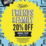 Kiehl's Friends & Family: Get 20% Off