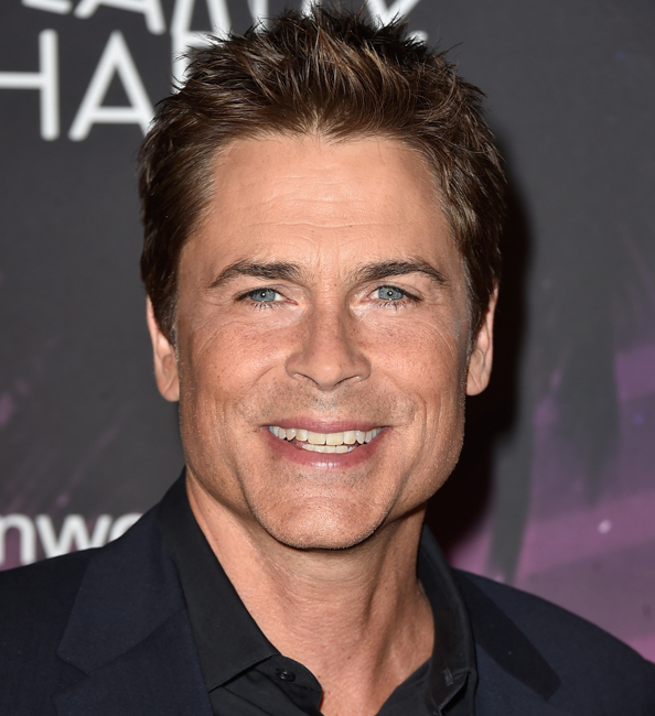 HOLLYWOOD, CA - OCTOBER 17:  Actor Rob Lowe  arrives at the 3rd Annual Los Angeles Hilarity for Charity Variety Show at Hollywood Palladium on October 17, 2014 in Hollywood, California.  (Photo by Frazer Harrison/Getty Images)