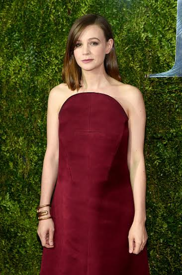 NEW YORK, NY - JUNE 07:  Actress Carey Mulligan attends the 2015 Tony Awards  at Radio City Music Hall on June 7, 2015 in New York City.  (Photo by Dimitrios Kambouris/Getty Images for Tony Awards Productions)