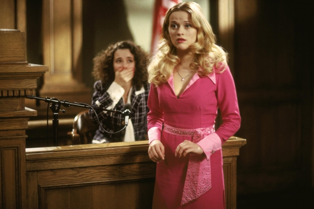 We know that Elle Woods' commitment to fitness is deep and real. But we  also know that scent is so vital to her, she spritzed it on her pink resume.
