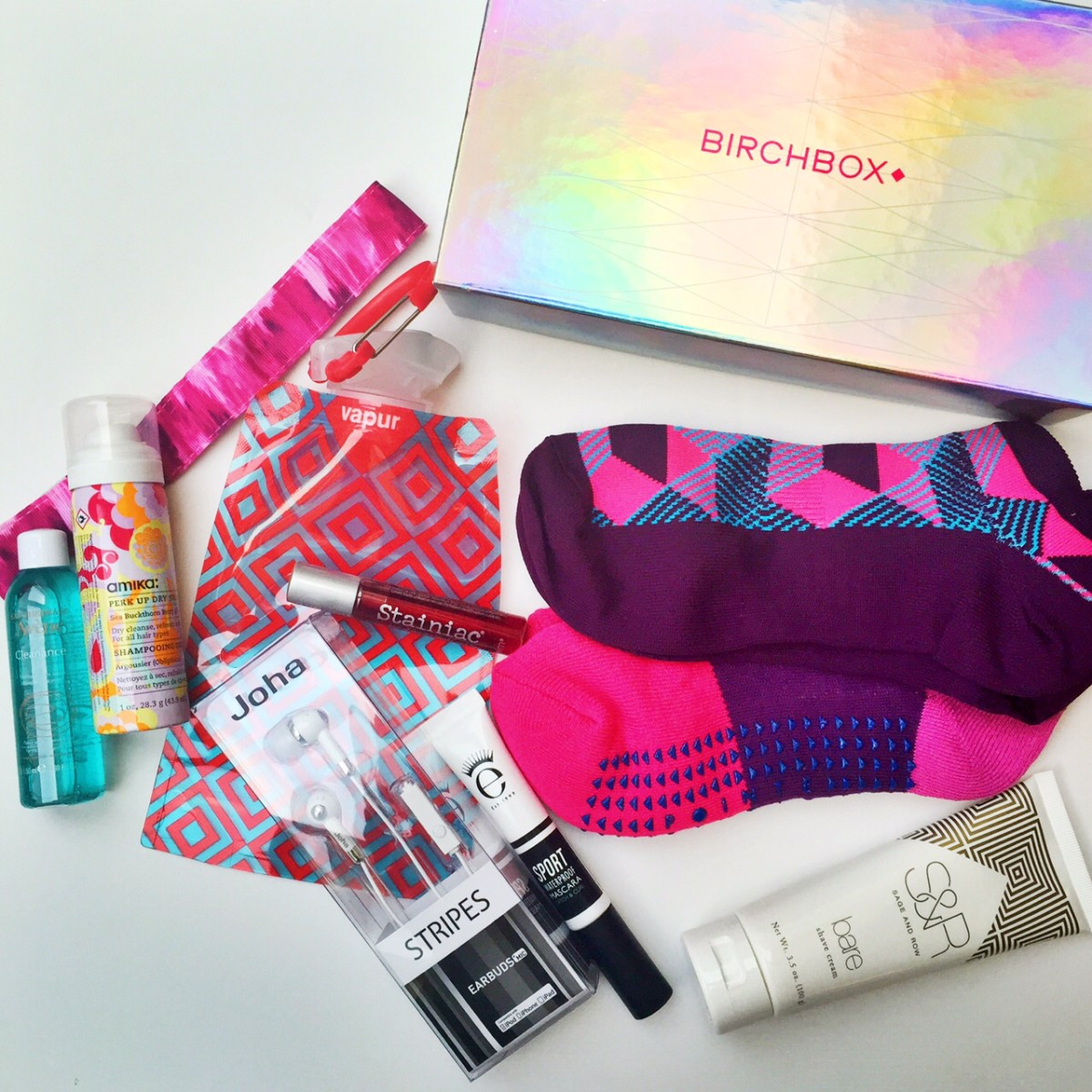 Get Into Birchbox's Gym Bag Heroes Limited Edition Box