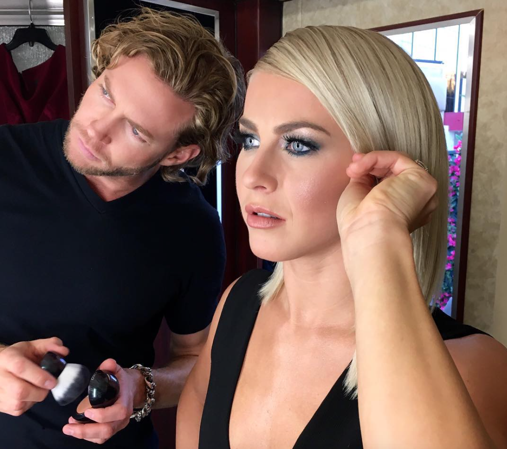 julianne-hough-makeup-smoky-eye-photo